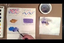 painting water colors