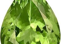 Gemstone Peridot / Peridot, an olive green color gem, is the birthstone of August month and the zodiac stone for the constellation libra. It is one of the few gemstones that are found only in one color, that is olive green and the darker the color the more precious is the stone considered.