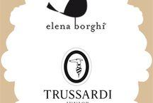 ELENA BORGHI for TRUSSARDI JUNIOR / Design limited edition made exclusively for Trussardi Junior at Pitti Bimbo 78 | FW 2014-15 |