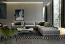 Bristol - sofas collection / Bristol, design Jean Marie Massaud: the modular sofa of exceptional planning versatility. The broad variety of finishings and coverings enables exploring several projects in the living room of neat and rigorous lines.