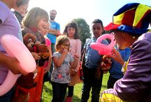 Fantasy Party Events / Children party planners : clown, decorations, face painting, games, bouncy castles.