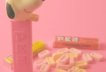 PEZ / The candy that comes in cool dispensers