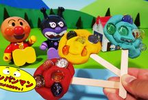 アンパンマン アニメ❤おもちゃ ねんどdeペロペロアイスキャンディ!Anpanman toys