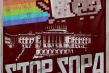 Stop SOPA / by Yolande Colquhoun