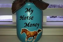 Horse crafts/ideas