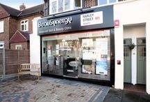 Beauty Salon Shop Fronts / BeauSynergy shop front and other shop fronts from beauty salons and skin clinics.