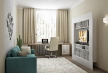 идея для стенки- телевизор