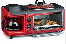 Toaster oven skillet/coffee maker