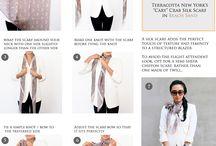 scarves, shawl, carre, etolé, pareo...