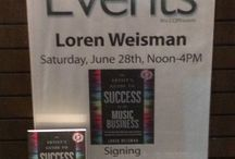 """Book Tour - Proof of Concept - Summer 2014 / Loren Weisman, a music industry consultant, and self-proclaimed """"branding fool,"""" is the author of """"The Artist's Guide to Success in the Music Business"""" (ISBN: 978-1608325788). On June 28, he begins the """"Proof of Concept Tour,"""" a two-month, 40-city book and speaking tour. / by Loren Weisman"""