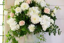 Church wedding flowers