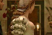 Italian renaissance - hairstyles