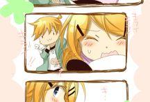Rin x len / Vocaloid