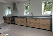 nieuw huis / keuken