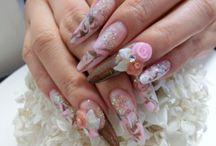 Long Nails ロングネイル / ハードジェル & スカルプチャー