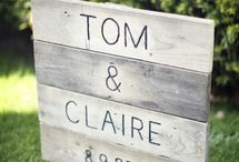 Wedding signs / by TwoLittleOwls inLove