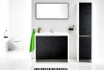 black and white / black and white Antado bathroom furniture #bathroom #furniture