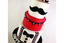 * BOY CAKES