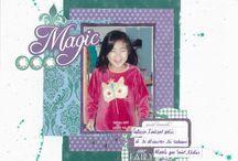 """Kit de scrap """"Not Only Fairy Tales"""" / Kit de scrap avec les feuilles Kaiser Craft de la collection Fairy Dust"""