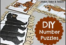 DIY math games
