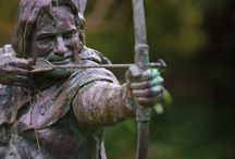 Robin Hood / Newark and Sherwood has been home to many famous names. But none so well known as Robin Hood