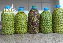 Zeytin suyu hazırlama