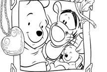 Winnie The Pooh: Disegni da colorare