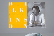 Editorial / Print Design / A selection of inspirational editorial and print design.