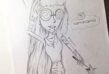 Moviestarplanet / A few of my drawings of you guys ♥