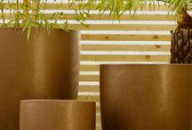 Fibreglass outdoor planters
