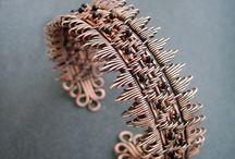 Медные украшения (плетение)