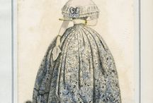 Fashion plates: 1850s