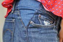 Переделка джинсов и т.д.