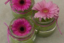 Bloemen voor op tafel