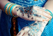 Henna and tattoo / Gorgeous and striking samples of beautifully decorated skin