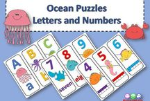 TPT Ocean Theme / Under the Sea and the Ocean are the theme for these classroom resources!