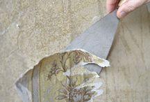 malern- Tapeten abweichen