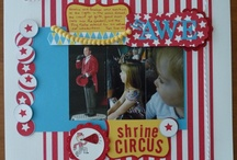 Scrapbook Pages: Circus