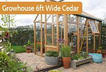 Wooden Greenhouses / A timber framed greenhouse could be the focal point of your garden and needs to be well made, practical and good looking.