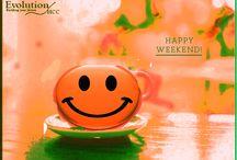 Weekend / Happy weekend !