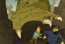 Tintin cthulhu