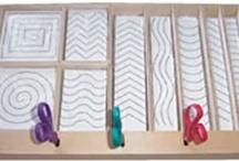 Montessori motoriek / Knippen