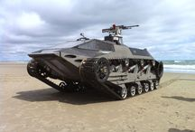 Tanks and vees / Military ground vehicles