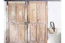 barn doors διφυλλη