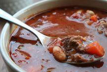soups on!! / by Julie Hummel