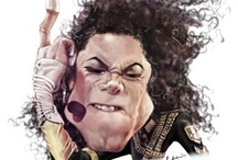 Michael Jackson Caricature Drawings