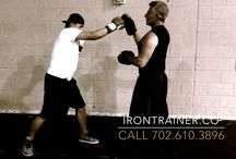 Boxing with the IRON TRAINER Las Vegas