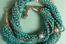 Hand knotted necklaces / Hand knotted beaded necklaces