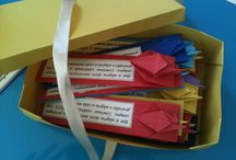 Marcadores de pagina de origami
