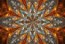 I love kaleidoscope / Fractal art